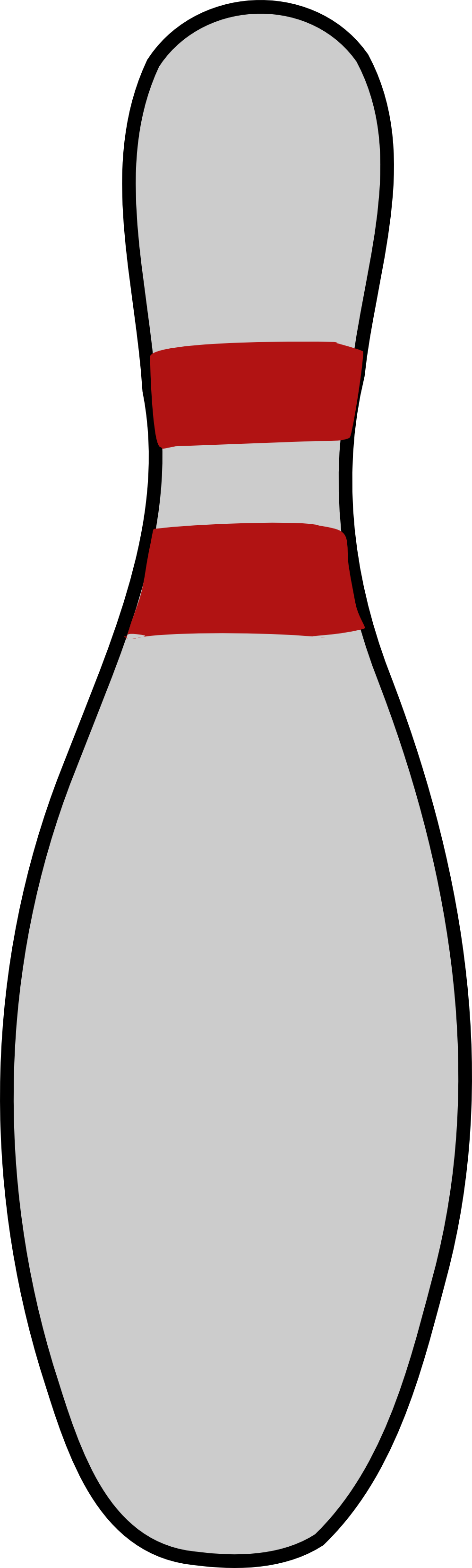 Clip Art Bowling Pin Coloring Page bowling pin coloring page clipart best
