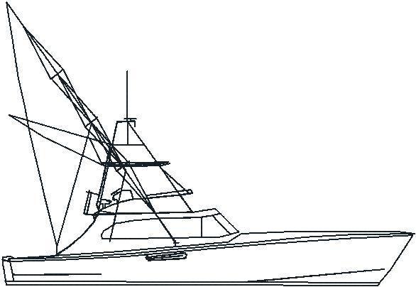 Art Line Yacht Design : Boat outline clipart best