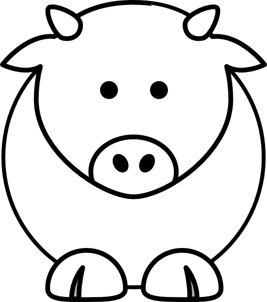 Cartoon Cow clip art - vector clip art online, royalty free ...: www.clipartbest.com/cows-cartoon