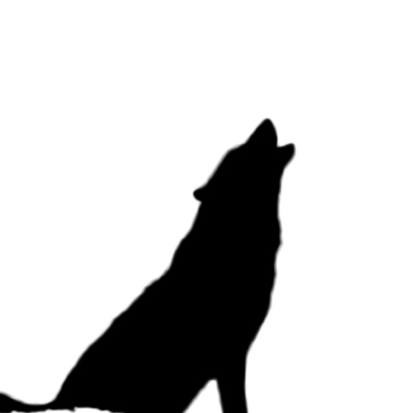 Howling Wolf Silhouette Sitting | www.imgkid.com - The ...