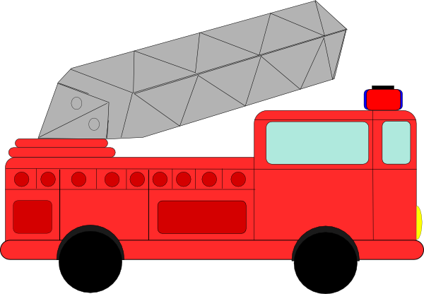 Clip Art Of Fire Station