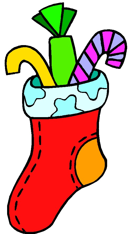 Christmas Stocking Picture - ClipArt Best