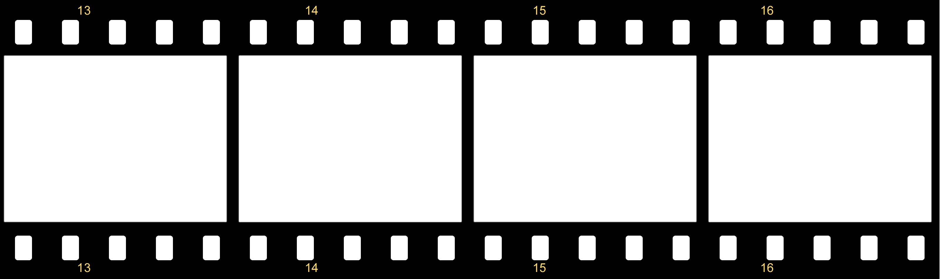 Free filmstrip template clipart best for Film strip picture template
