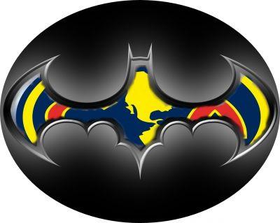 BATMAN --AME-- por sagitman - Logo y Escudo - Fotos del Club America: www.clipartbest.com/escudo-de-batman