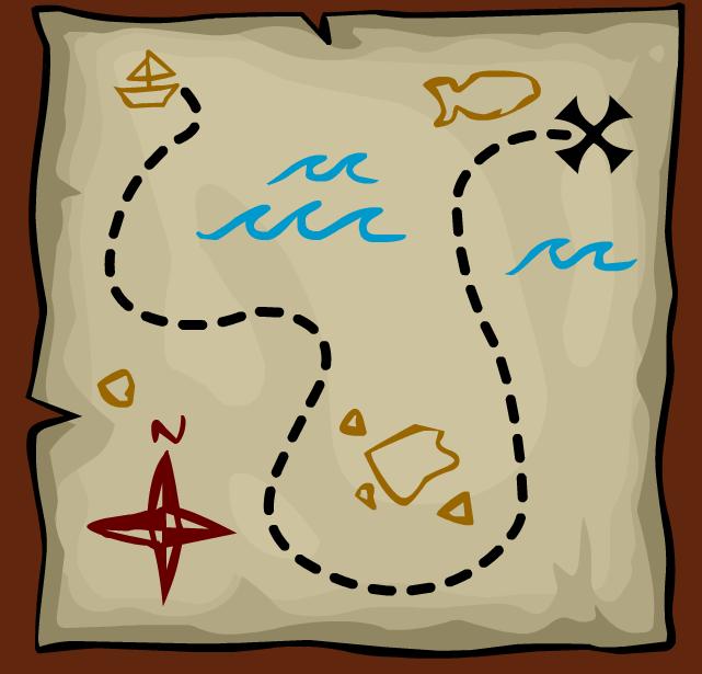 Scavenger Hunt Map Template - ClipArt Best