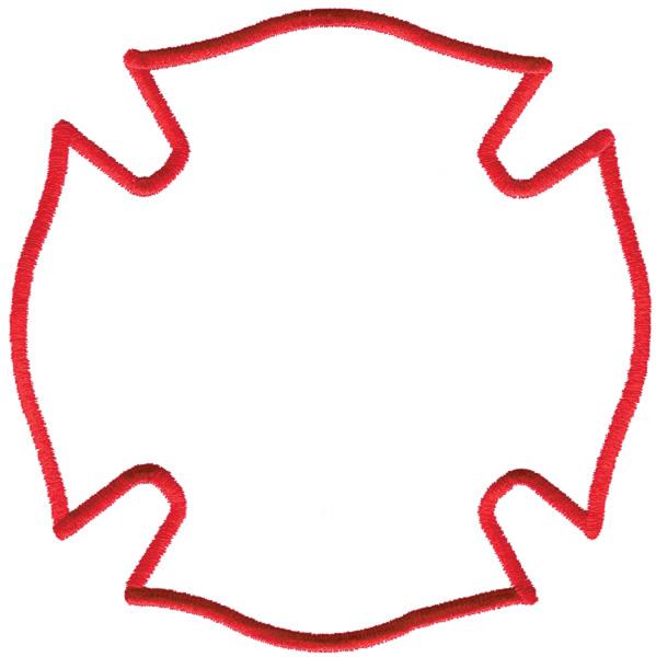 Fire Maltese Cross Clip Art - ClipArt Best