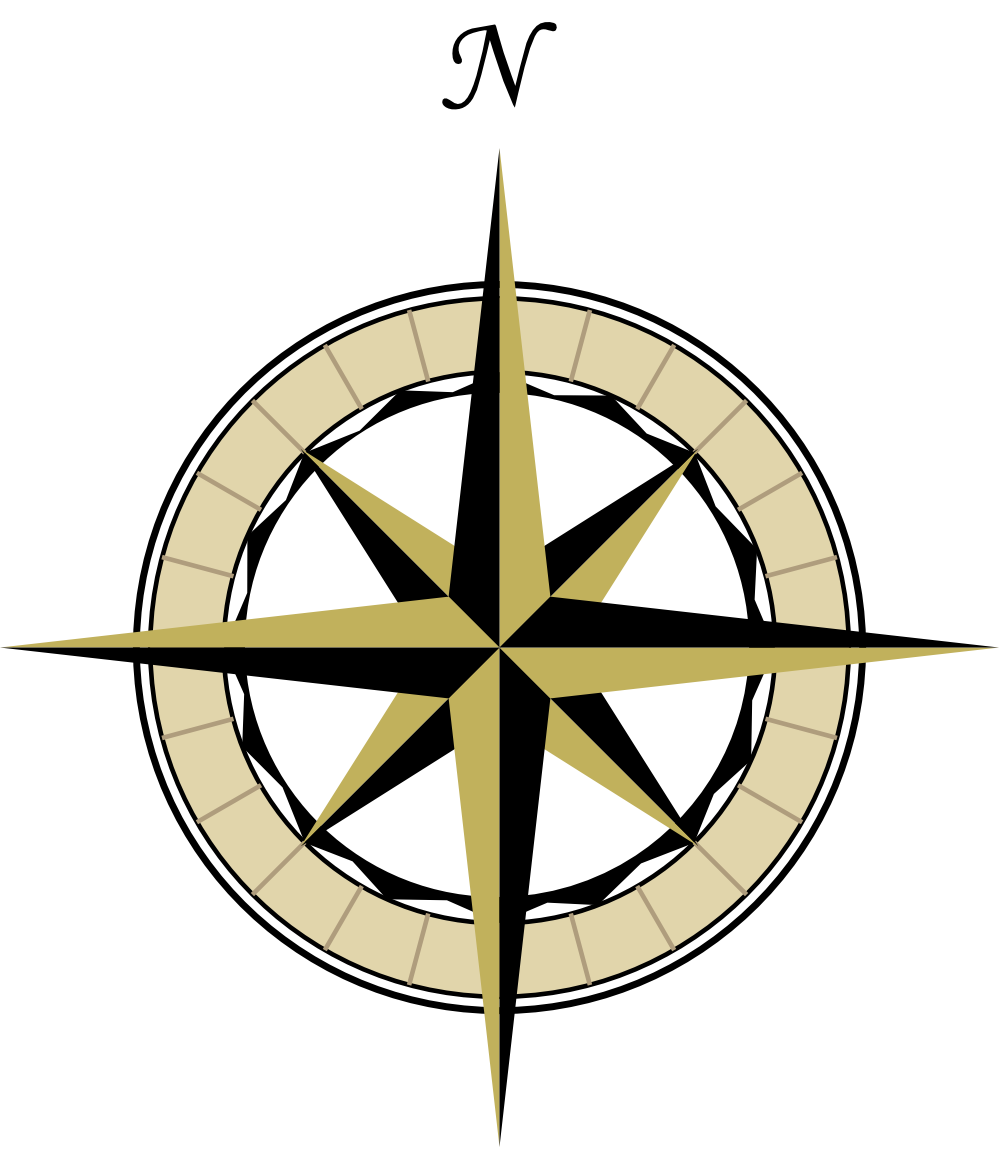 Compass Rose Vector Free - ClipArt Best