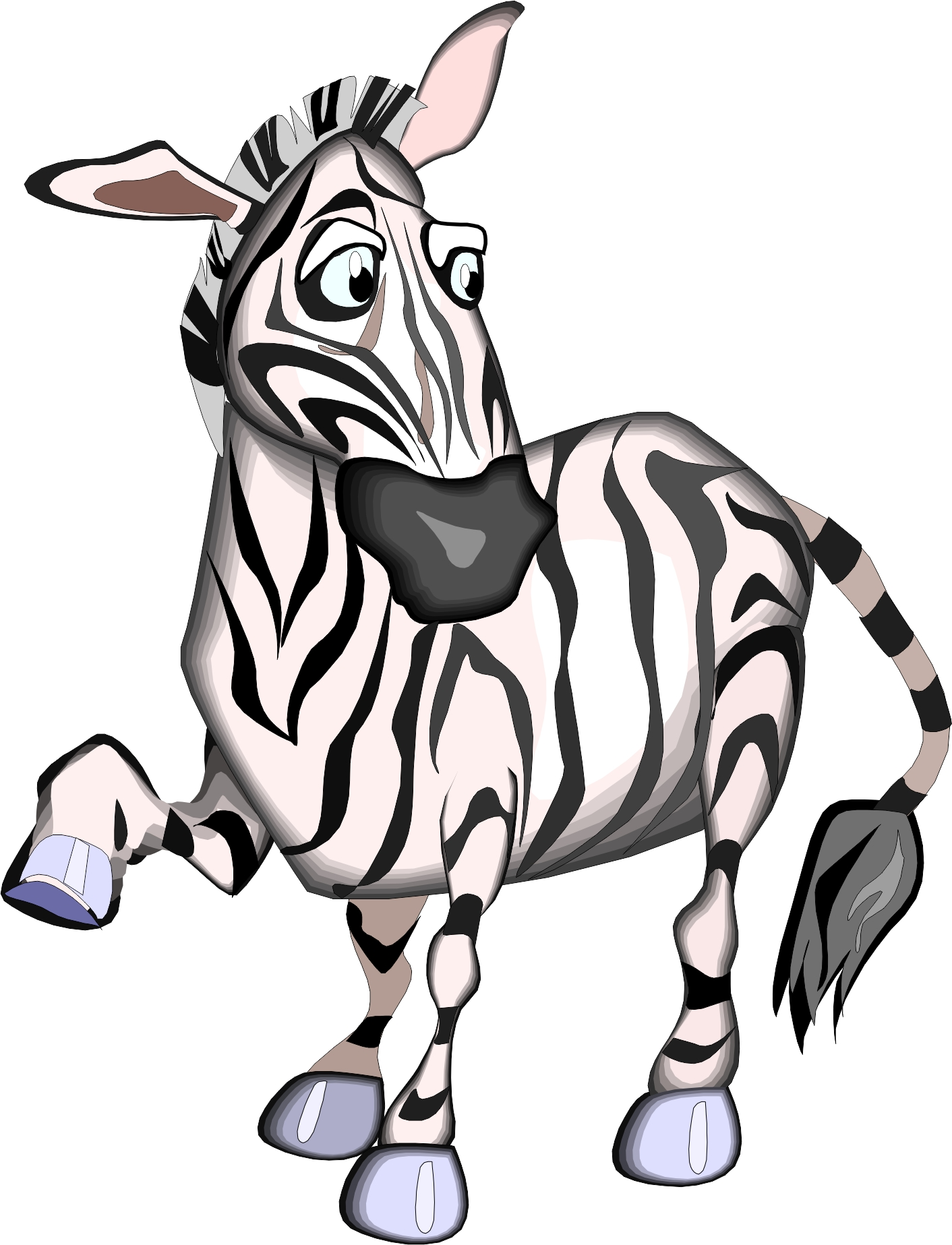 baby zebra cartoons