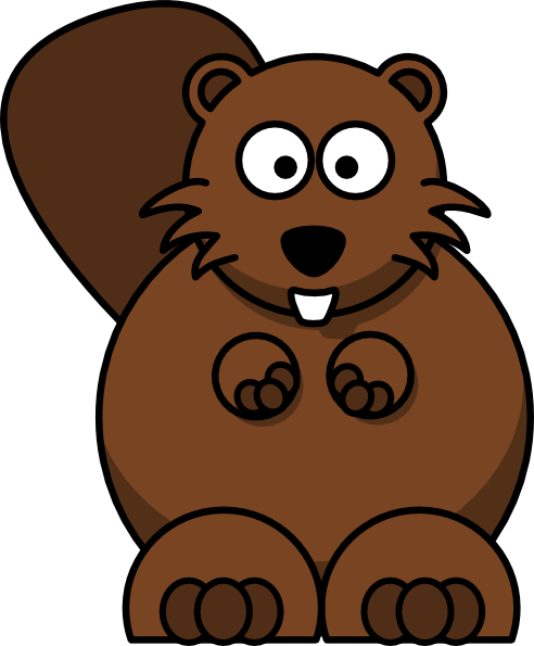 cartoon canadian beaver clipart best beaver clipart but for free beaver clipart backs