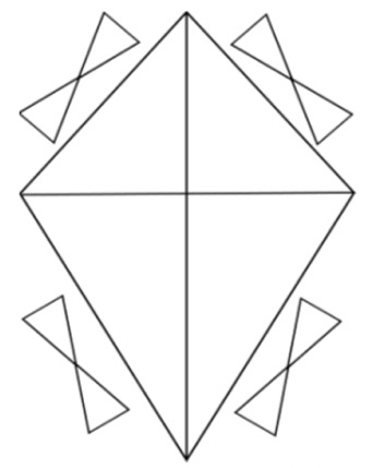 Making a kite Colouring Pages (page 2)