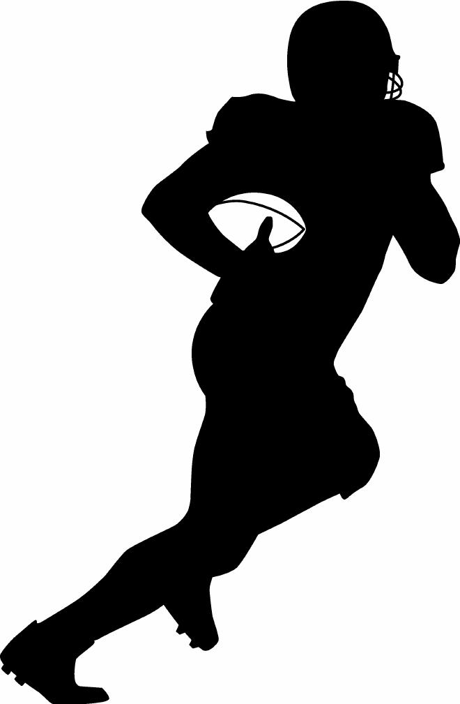 animated clip art of football - photo #49