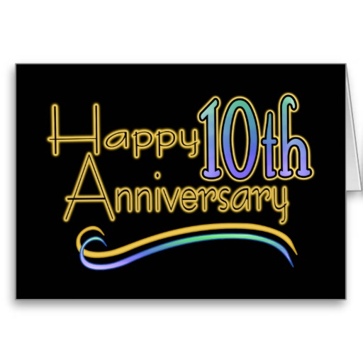 happy 10 anniversary free cliparts that you can download to you ...