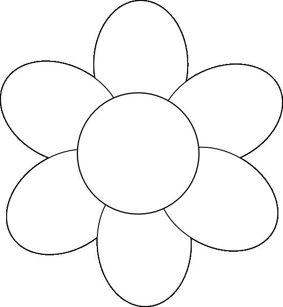 Sunflower Petal Outline - ClipArt Best