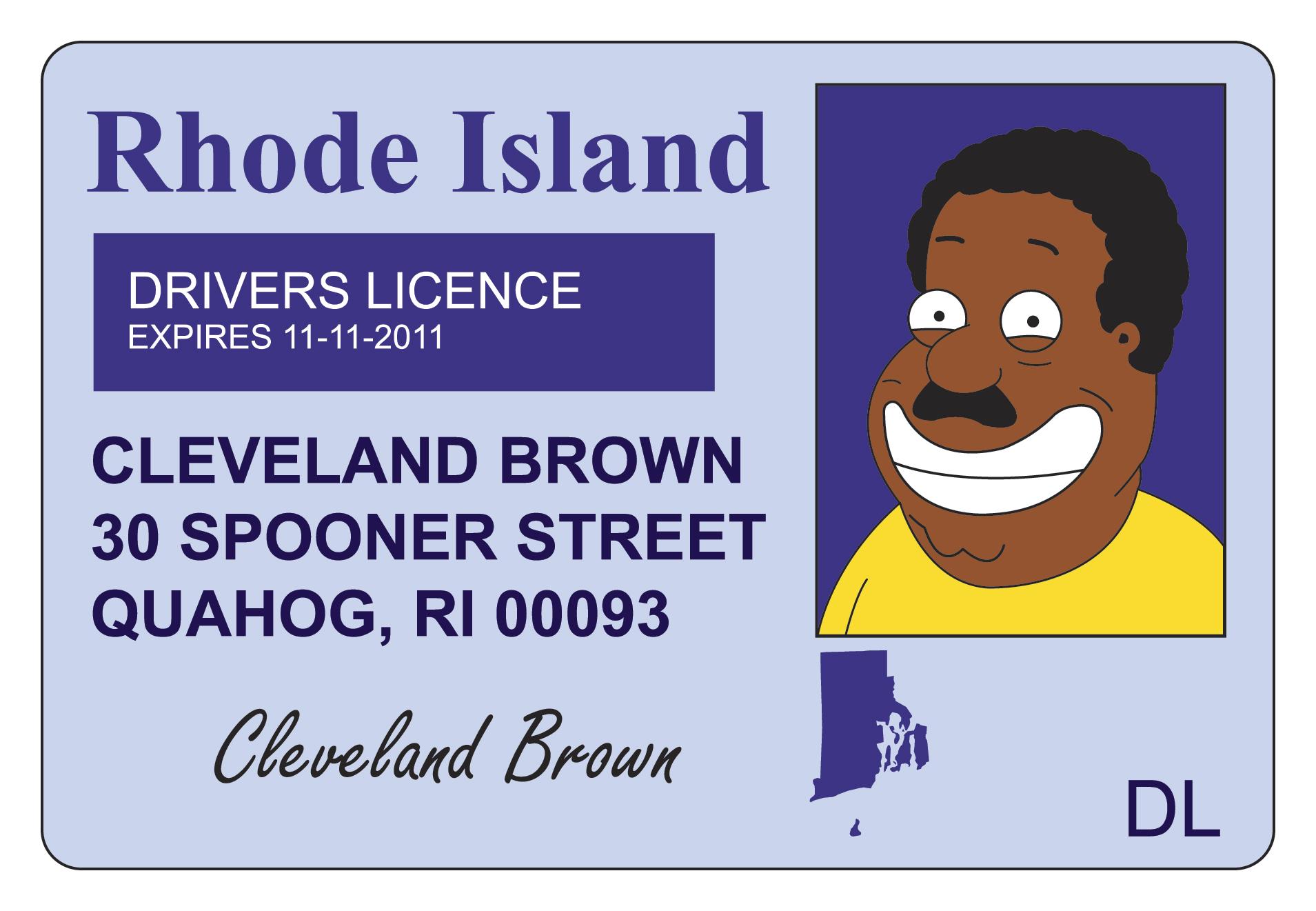Rhode Island Kids Card