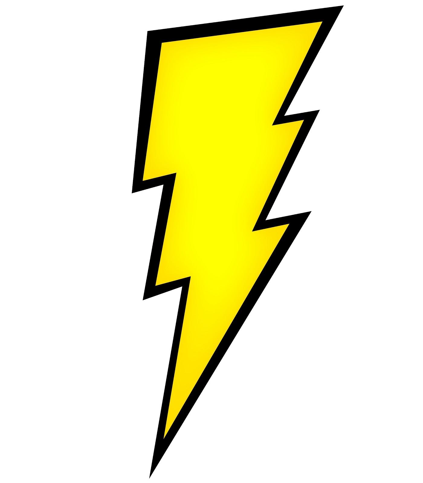 Lightning Bolt Outline - ClipArt Best