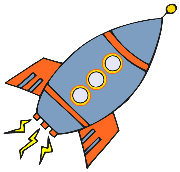 cartoon rocketship images clipart best