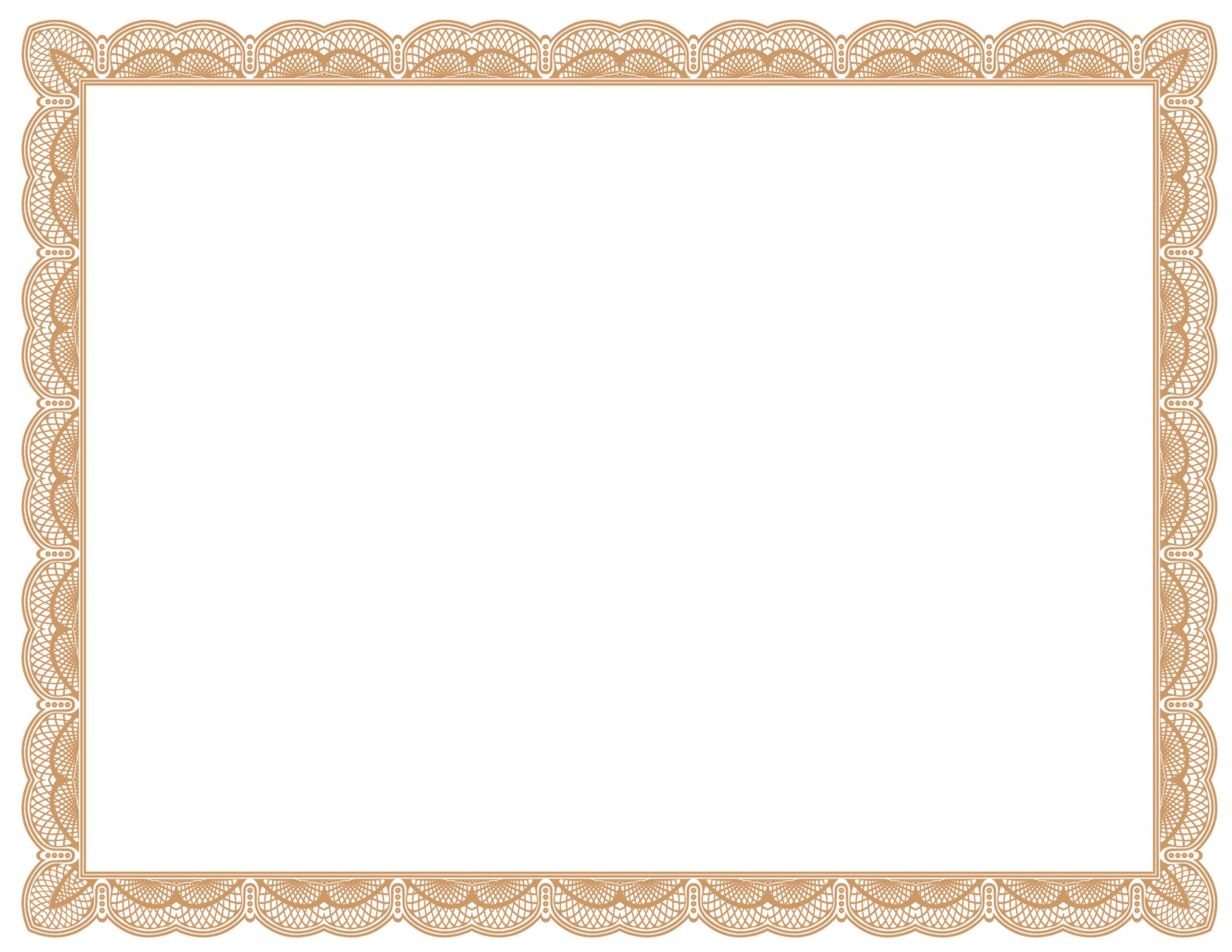 Certificate Border Templates Free Clipart Best