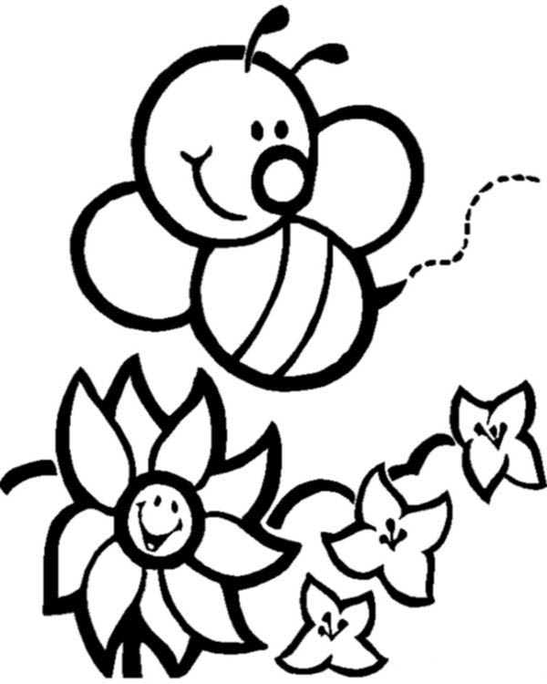Cute Bumble Bee Coloring Pages | Cute bumble bee coloring pages | Bee  coloring pages, Bumble bee clipart, Bee clipart | 750x600