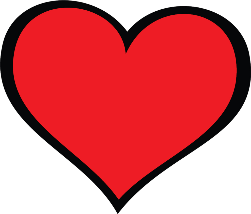 Clip art cuore clipart best for Clipart cuore