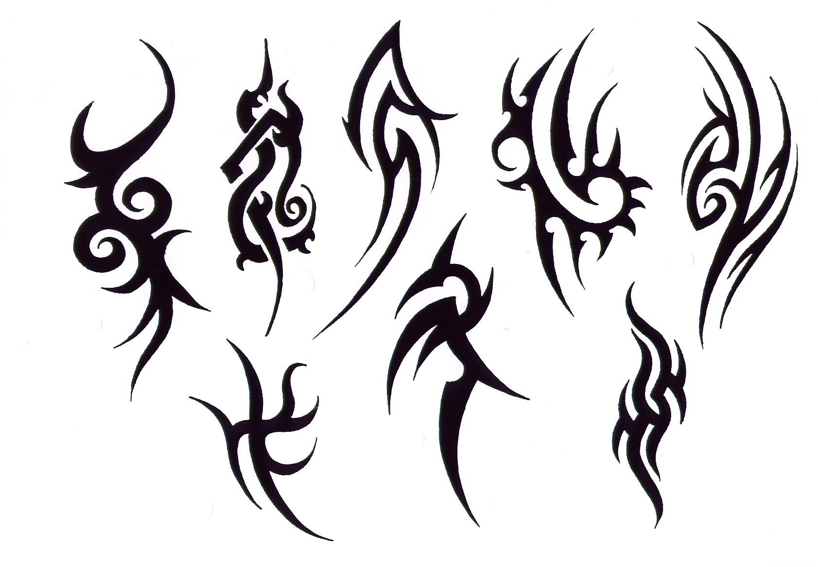 black and white tribal tattoo designs clipart best. Black Bedroom Furniture Sets. Home Design Ideas