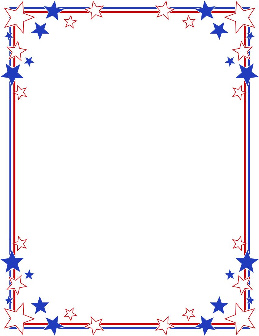 Patriotic Page Borders - ClipArt Best