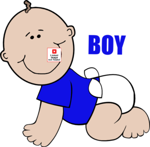 Baby boy animation