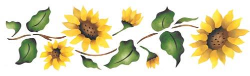 Sunflower Border - ClipArt Best