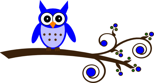 Blue Owl Clip Art - ClipArt Best