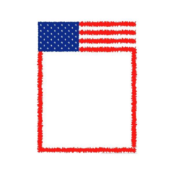 American Flag Border Clip Art - ClipArt Best