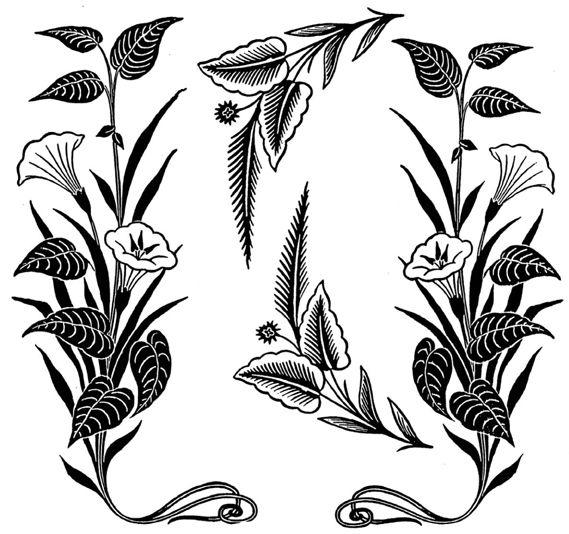 wood engraving designs