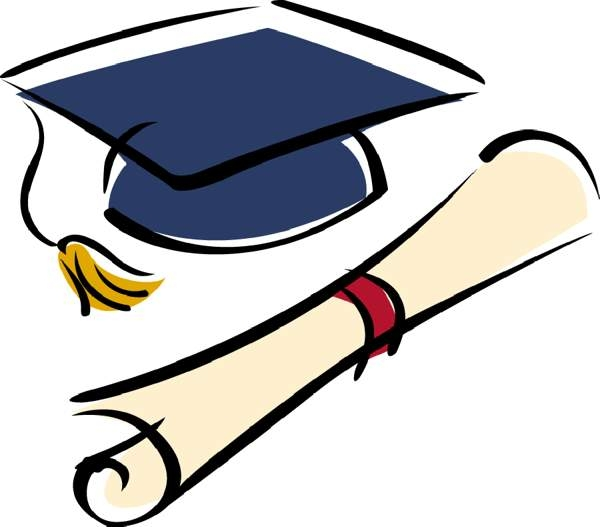 Free high school graduation clip art