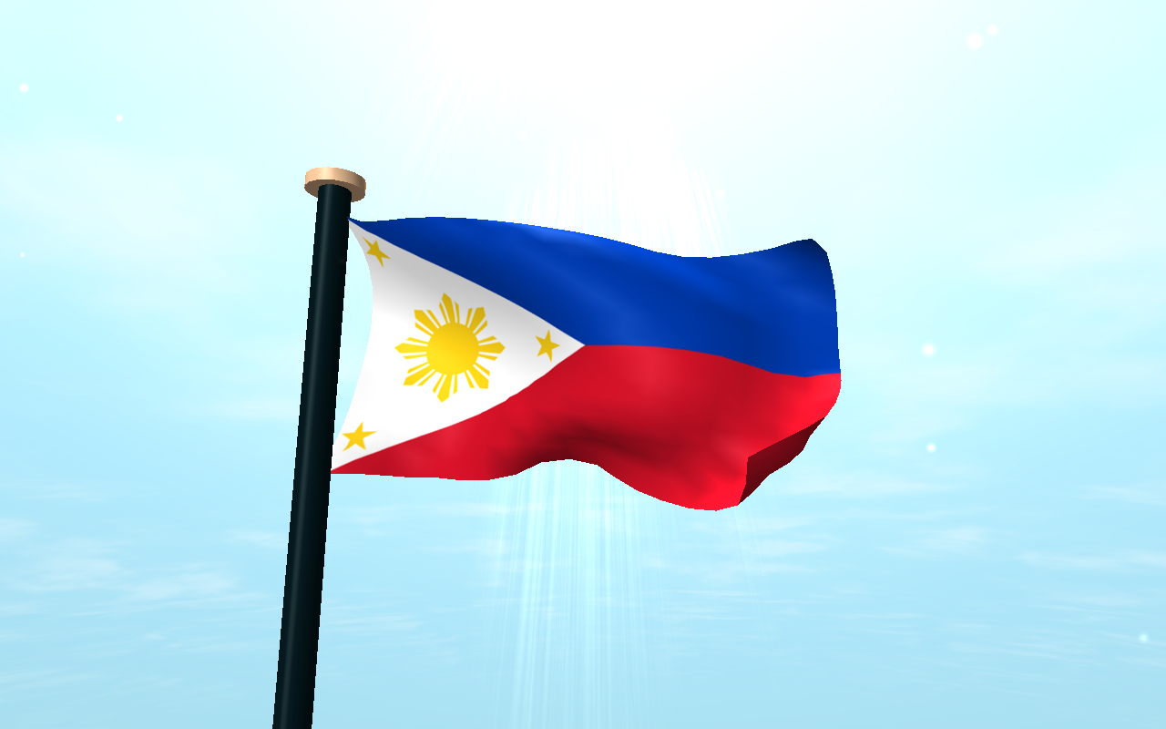 Philippines Flag 3D Wallpaper - Android Apps on Google Play