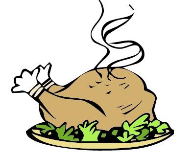 Images Thanksgiving Turkey Dinner Clip Art Wallpaper