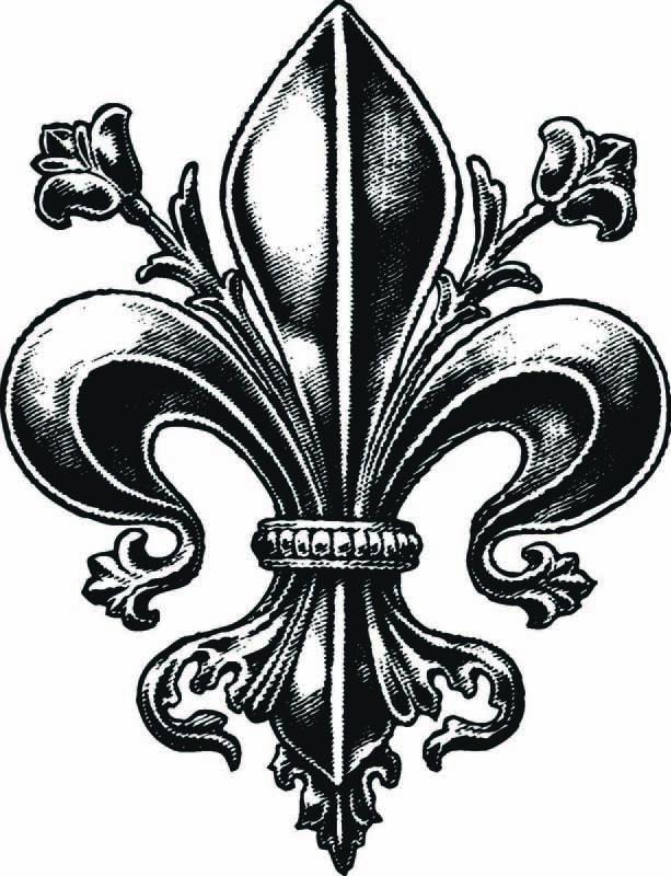Fleur De Lis Tattoo Designs