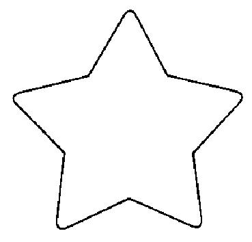 Star Stencil Clipart Best
