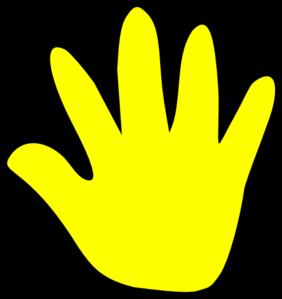 Child Handprint Clipart Outline Cutout - ClipArt Best ...