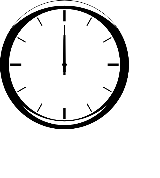 Analog Clock Clipart - ClipArt Best