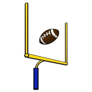 Football Goal Post Pictures Clipart Best