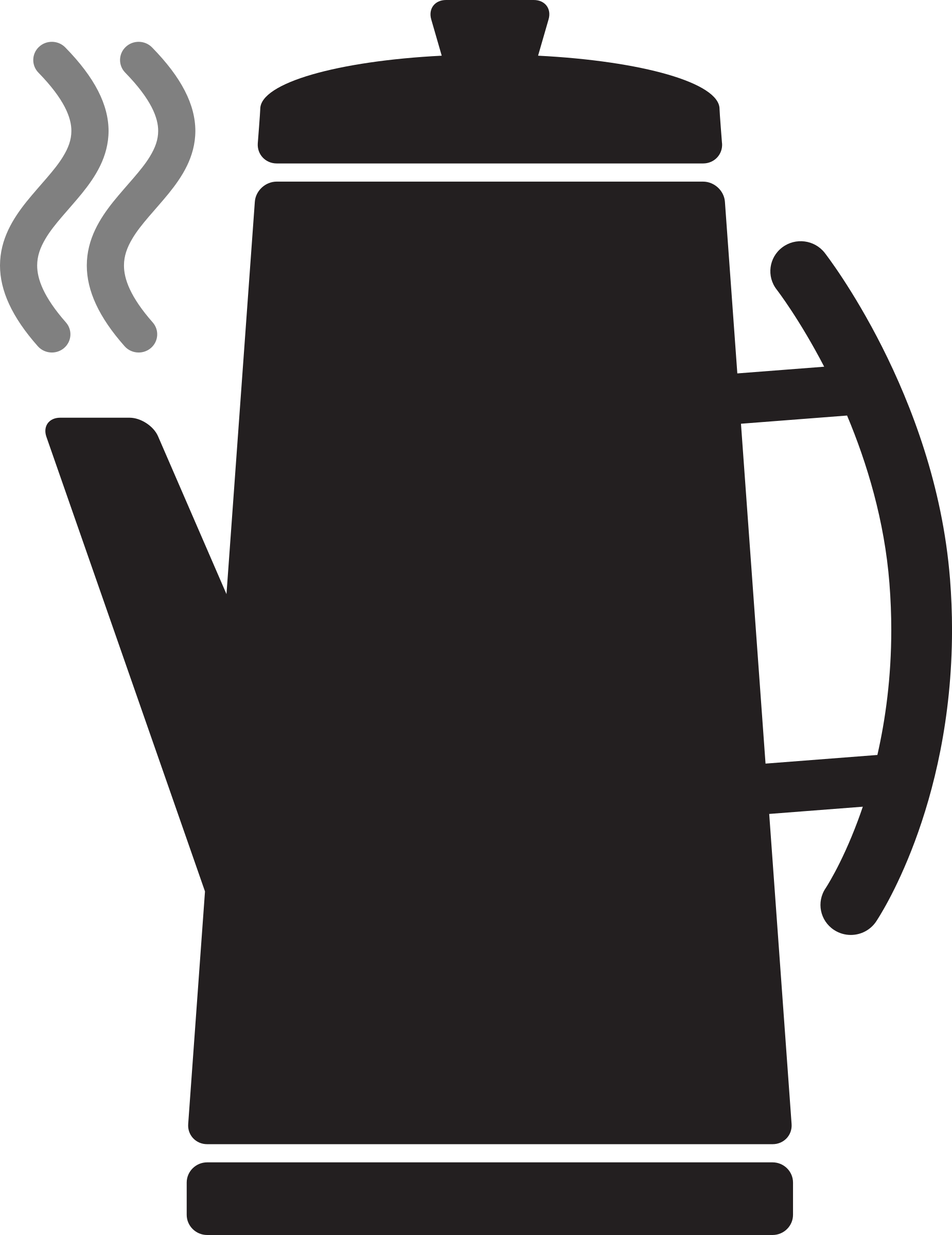 Clipart - Kitchen Icon - Coffee Percolator