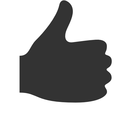 Hands Thumbs up Icon   Icons8