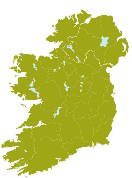 blank map of ireland pdf