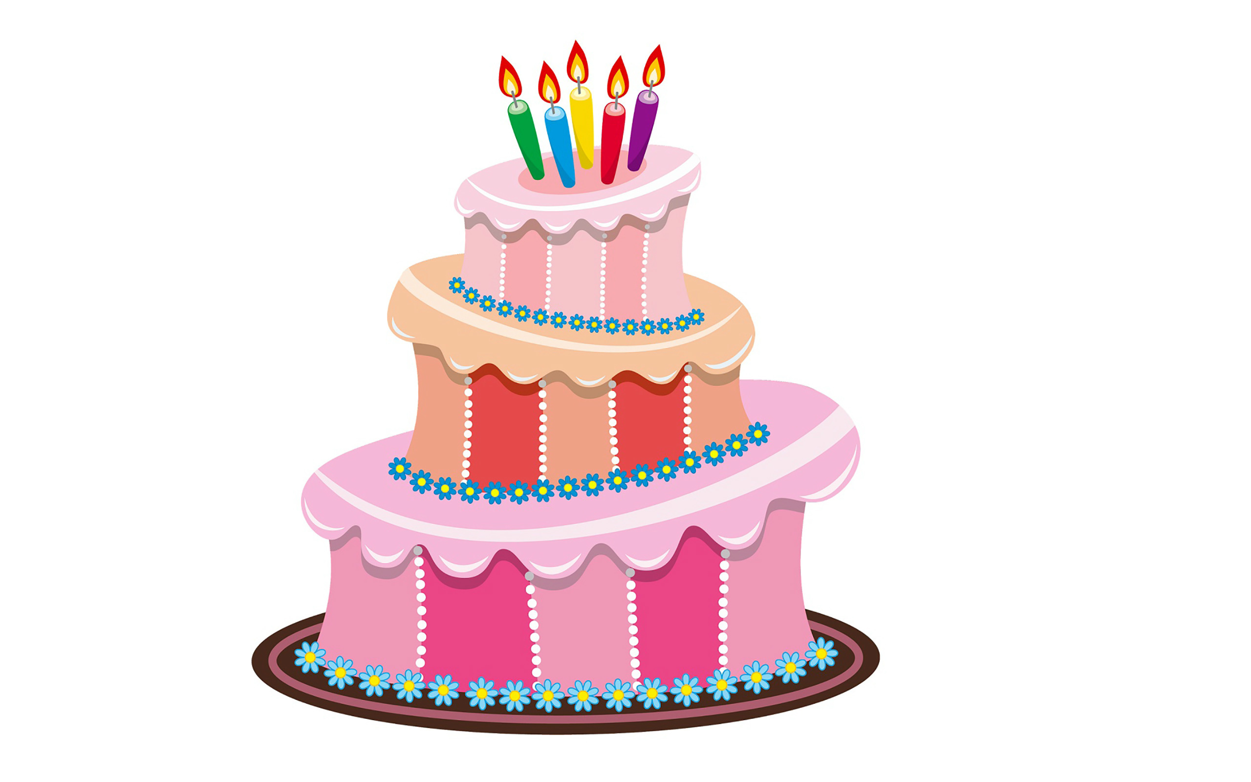 Clipart Birthday Dancing Cake : Cake Animation - ClipArt Best