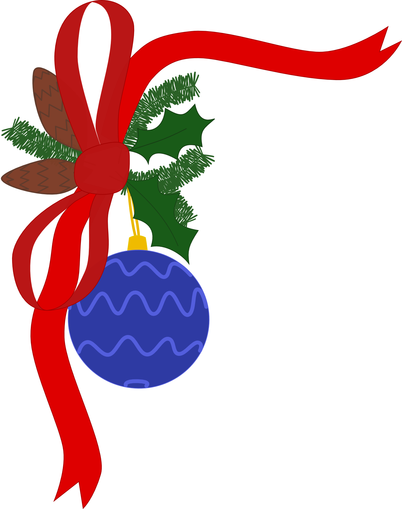 Christmas decorations clipart clipart best for Decoration clips