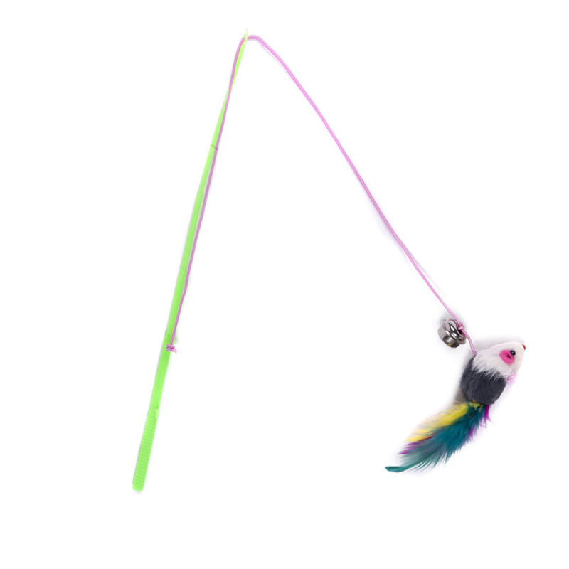 Fishing pole cat toy craftbnb for Cat toy fishing pole