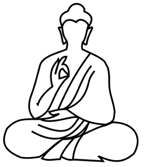 How To Draw Buddha - ClipArt Best