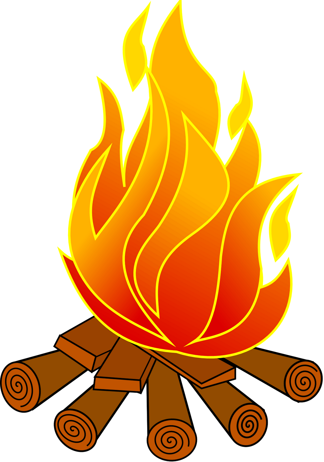 free clip art fire pit - photo #14