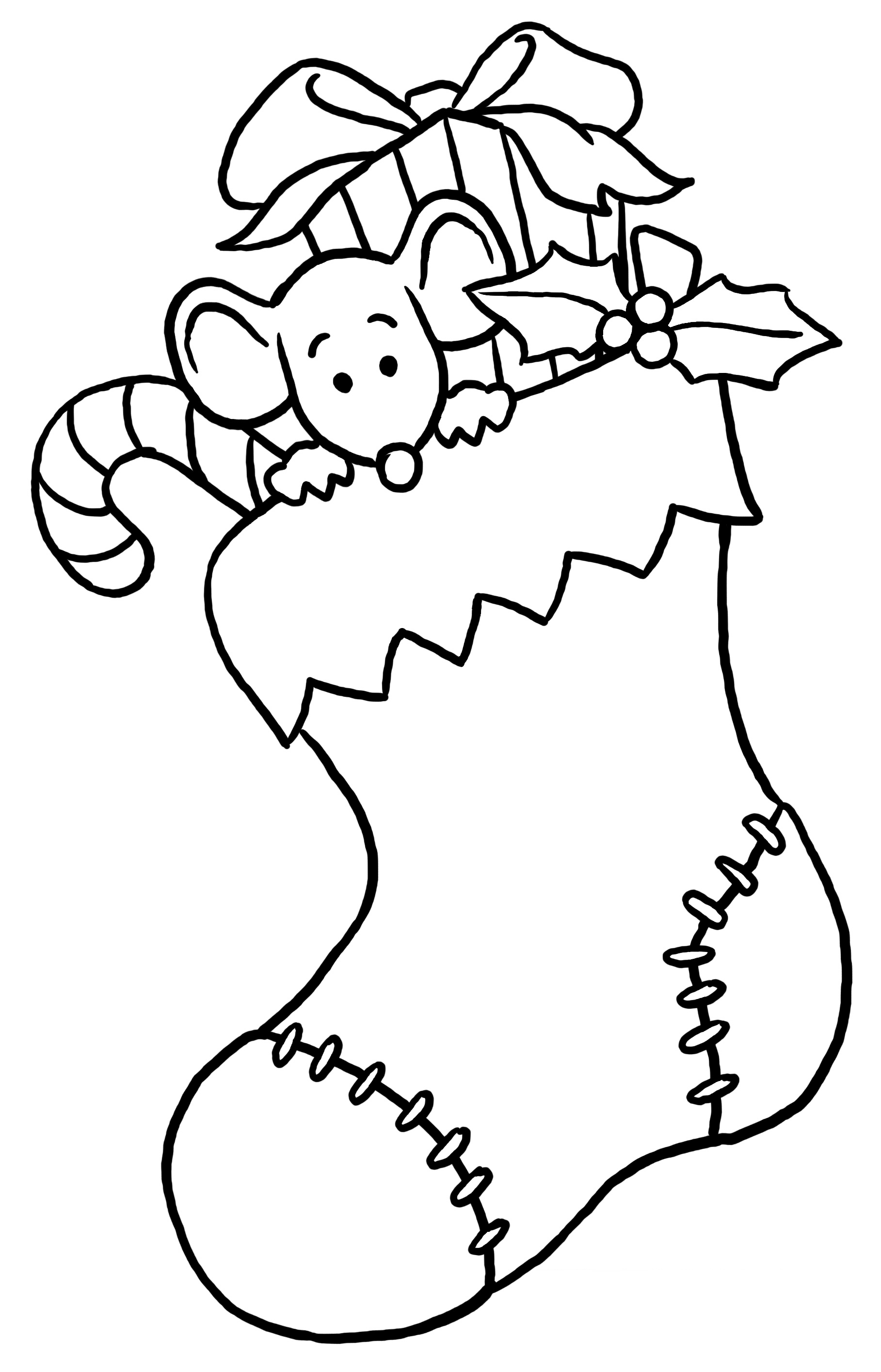 fun christmas coloring pages - photo#2