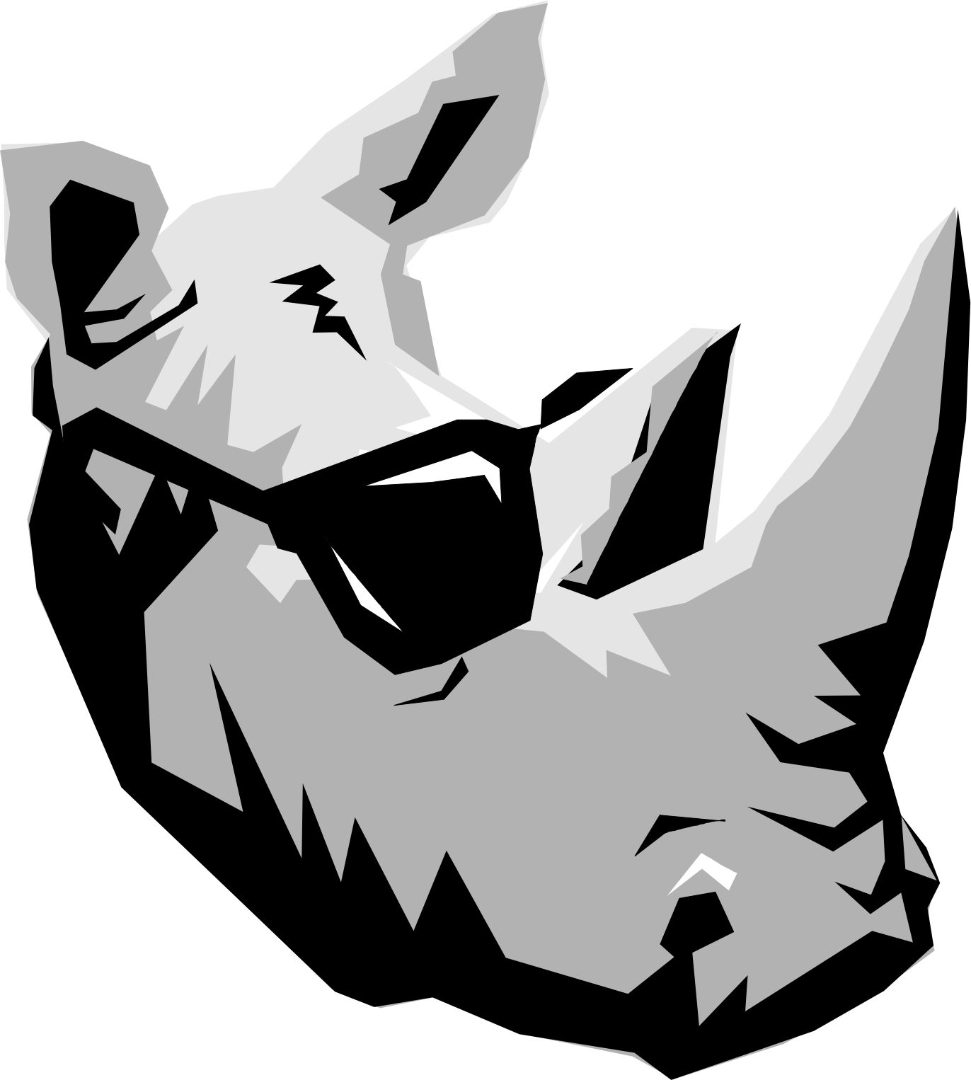 Cartoon rhino page 2