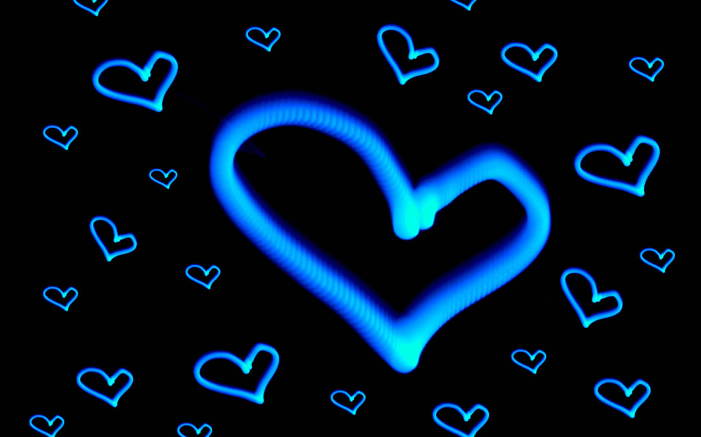 Neon Hearts And Stars Neon Hearts And Stars