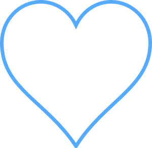 Blue Heart clip art - vector clip art online, royalty free ...: www.clipartbest.com/heart-cartoon-blue